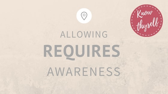 Allowing Requires Awareness