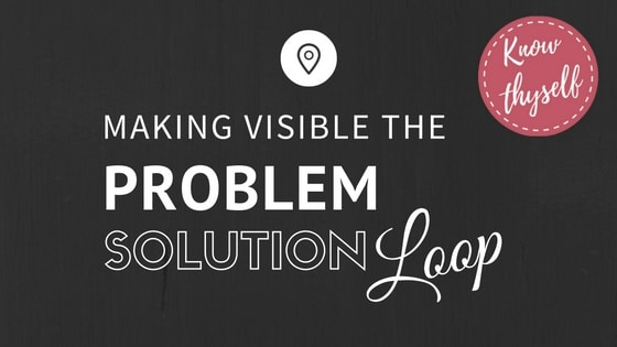 Making Visible the Problem-Solution Loop